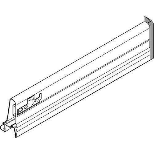 (альт. бл378...) Боковина TANDEMBOX L=450мм, правая, нерж.
