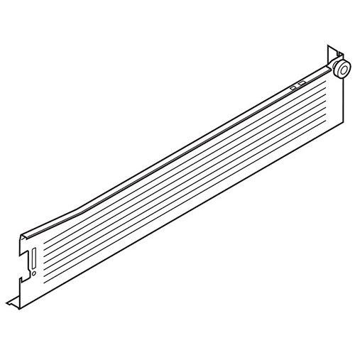 Боковина METABOX M (86мм),  L=450мм, правая, кр.-белый