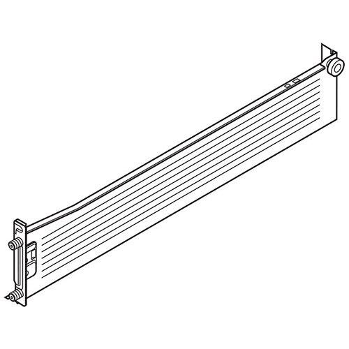 Боковина METABOX M (86мм),  L=500мм, правая, кр.-белый