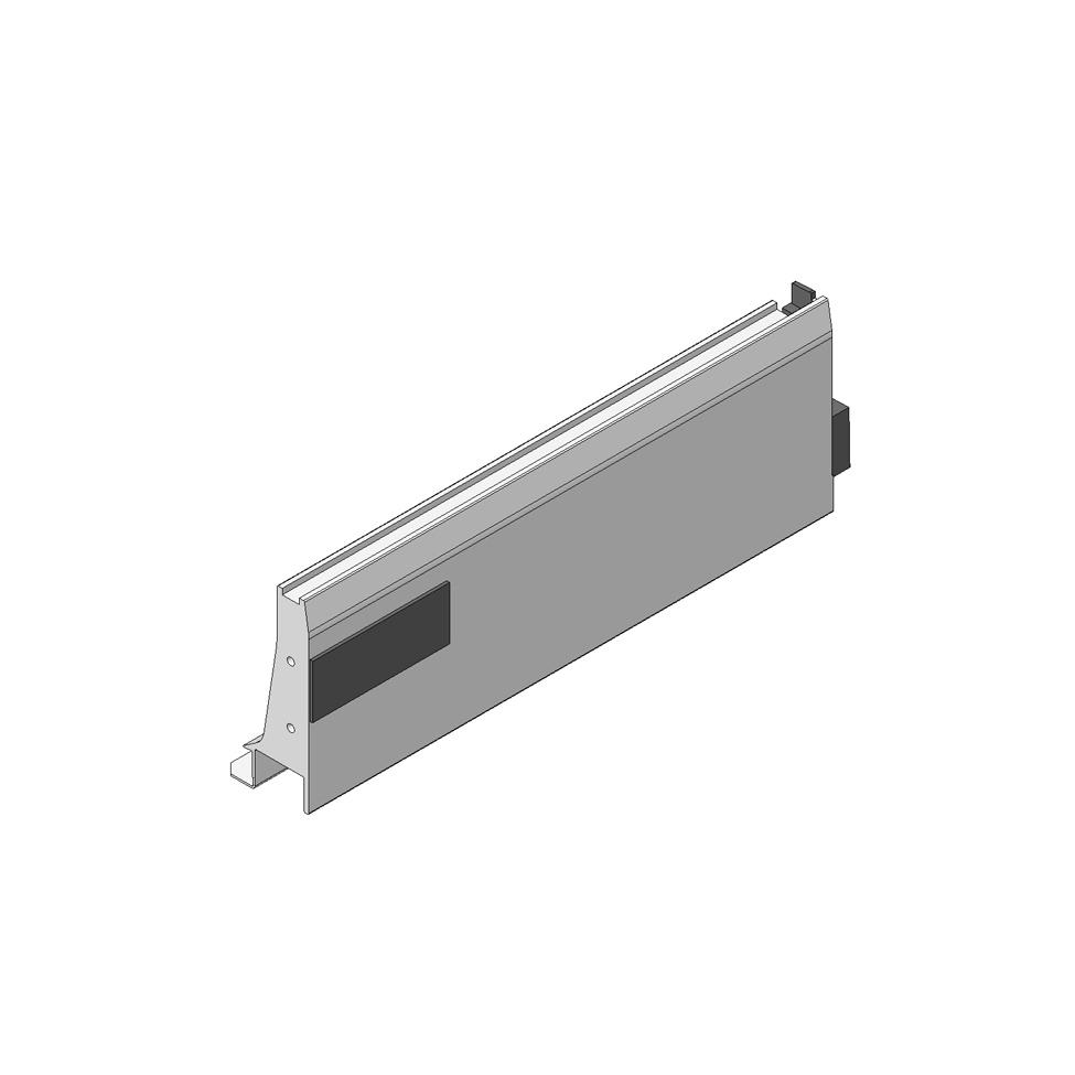 Боковина TANDEMBOX INTIVO L (101,4 мм), L=300мм, лев.+прав.,терра черн.