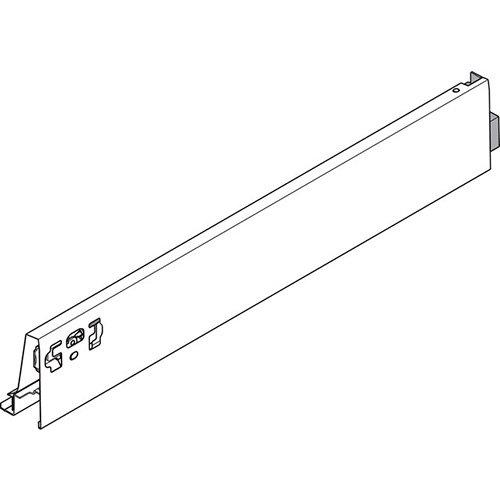 Боковина TANDEMBOX Antaro M (83,6 мм), L=450мм, прав., белый шелк