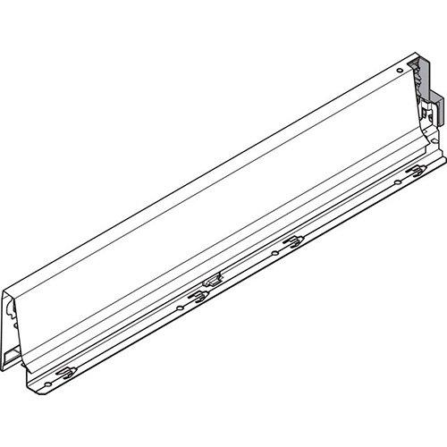 Боковина TANDEMBOX Antaro M (83,6 мм), L=500мм, левая , белая шелк