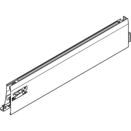 Боковина TANDEMBOX INTIVO L (101,4 мм) L=500мм, прав, белый шелк