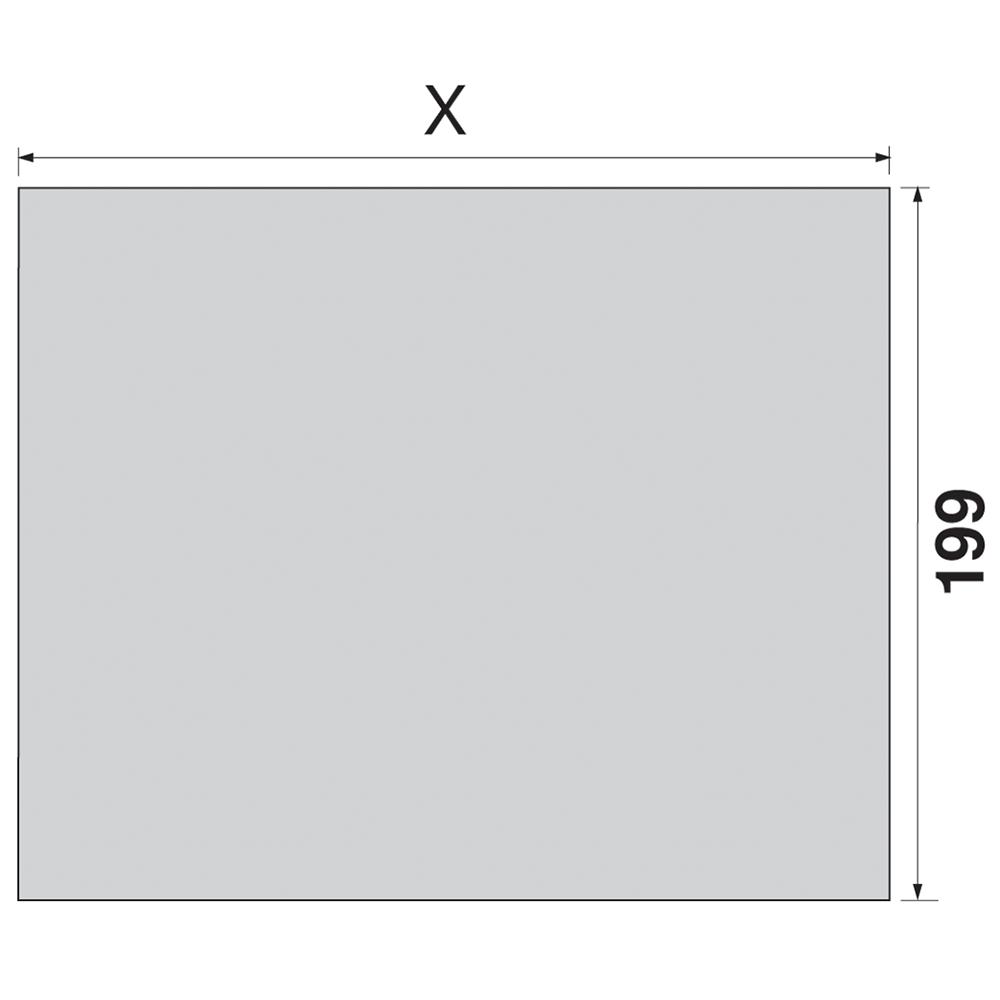 """Боковина TANDEMBOX INTIVO L=650мм, лев.+прав., нерж. """"антипалец"""""""