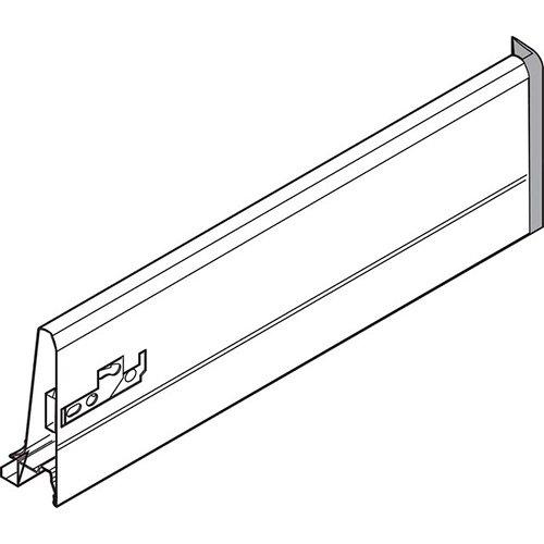 Боковина TANDEMBOX K (115 мм), L=400мм, правая, серый