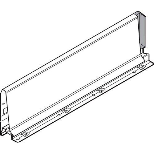 Боковина TANDEMBOX K (115 мм), L=450мм, левая, серый
