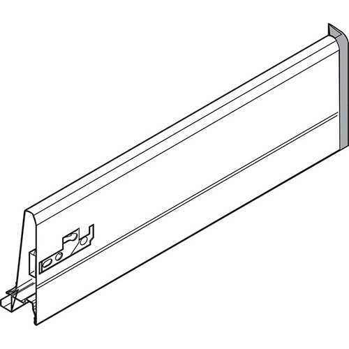 Боковина TANDEMBOX K (115 мм), L=500мм, правая, серый