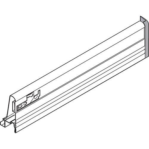 Боковина TANDEMBOX M (83 мм), L=500мм, правая, серый