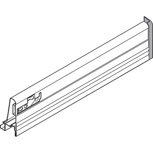 Боковина TANDEMBOX M (83 мм), L=550мм, правая, белый
