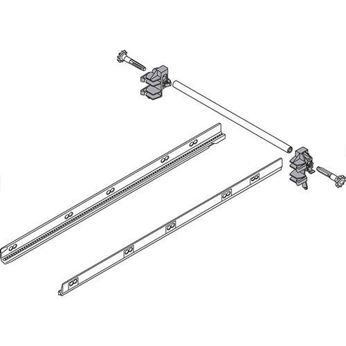 Боковой стабилизатор для Tandembox PLUS, 550мм (монтаж сзади)