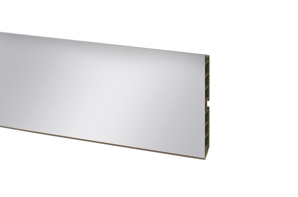 Цоколь ПВХ зеркал. H=100мм, 4м