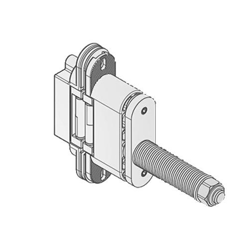 Доводчик Battista 680 для петель 505-506-580, хром мат. 60 кг/дв