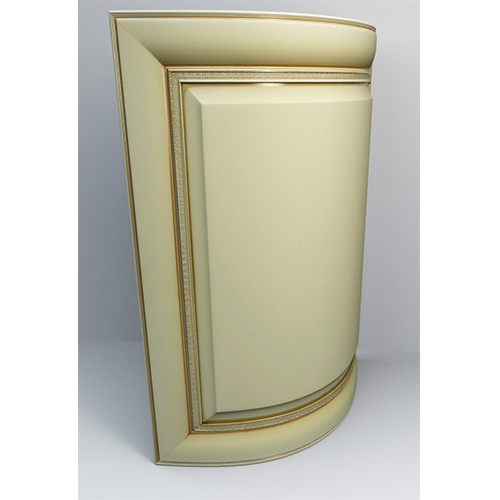 Дверка Monaco закругл. 716х330мм