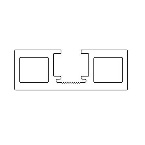 К-т системы New Universal (Eclettica)/1200x2600, на 1 дверь, с 2мя довод,80кг, L=1200мм, черный