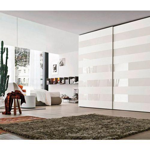 Комплект для 2-х дв шкафа l=2000мм толщина двери до 23мм весом до 50 кг (h=33) с 4мя стопорами