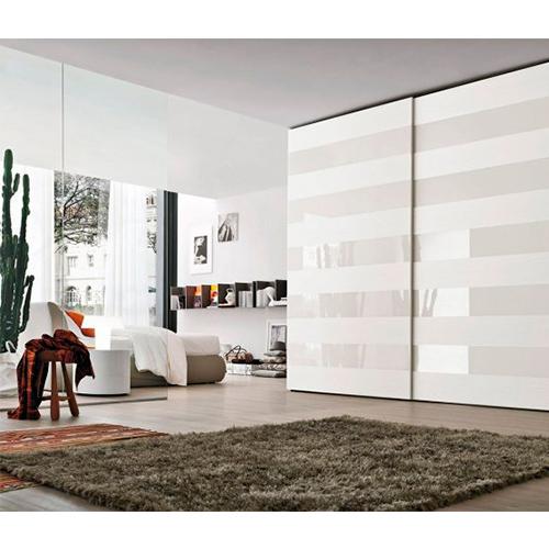 Комплект для 2-х дв шкафа l=2000мм толщина двери до 40мм весом до 100 кг (h=33) с 4мя доводчиками