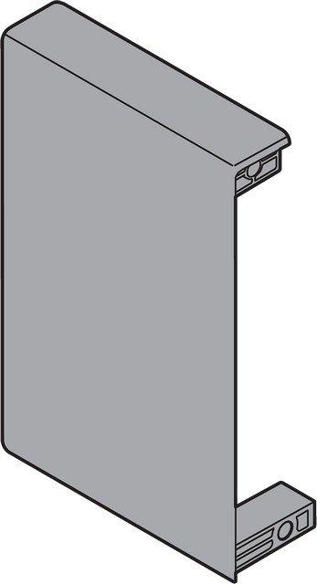Крепление передней панели ANTARO M, лев, белый (пластик)