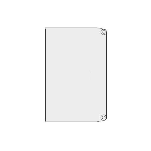 Крышка боковая для декор. профиля  т1690/AS