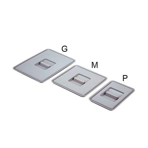 Крышка для ведра M (средняя),пластик,серая