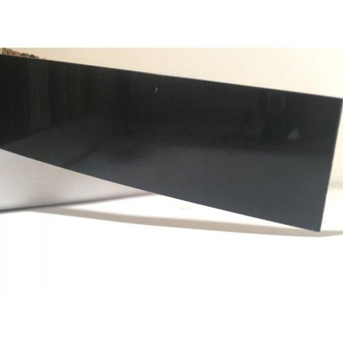 Лента черный глянец 23х1,3 мм, uni, 100