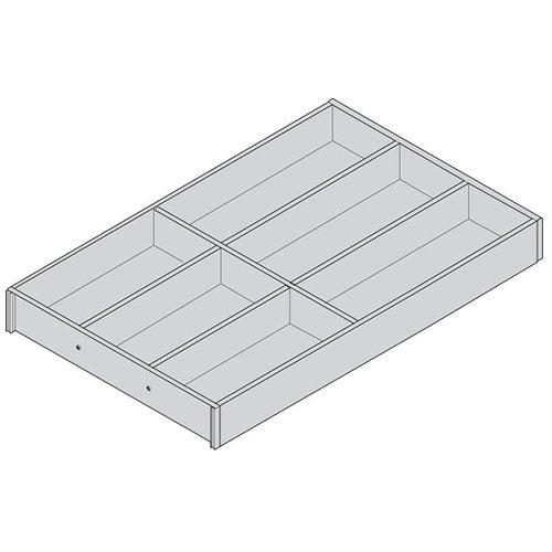 Лоток AMBIA-LINE для столовых приборов для LEGRABOX, L=500мм, станд.ящик, Дуб Небраска/ОРИОН