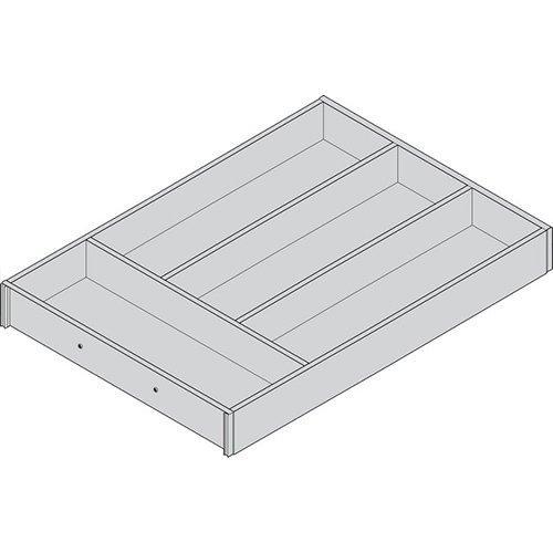 Лоток AMBIA-LINE для столовых приборов LEGRABOX, L=450мм, Дуб Небраска/ОРИОН