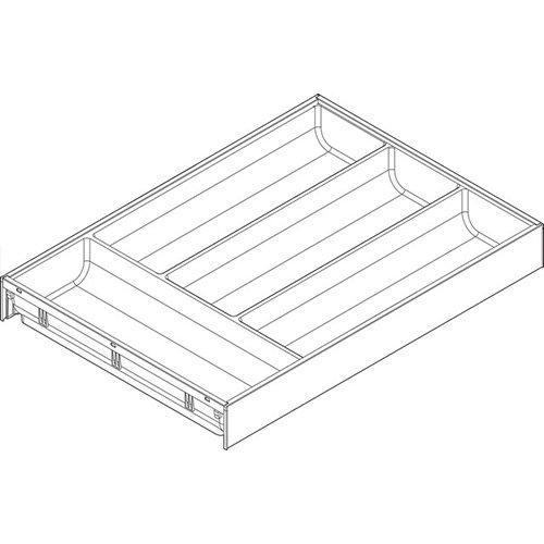 Лоток AMBIA-LINE для столовых приборов LEGRABOX, L=450мм, ОРИОН