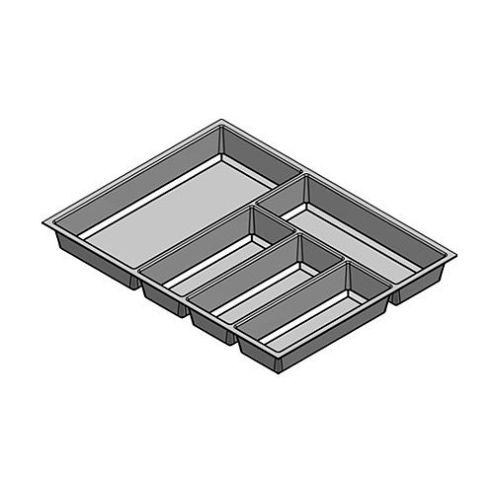 Лоток для столових приладів Classico 500/60, для Legrabox, чорний (890), Globe soft Touch