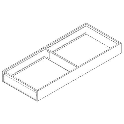 Рама AMBIA-LINE для LEGRABOX, стандарт.ящик, сталь, L=550мм, шир.=200мм, белый шелк