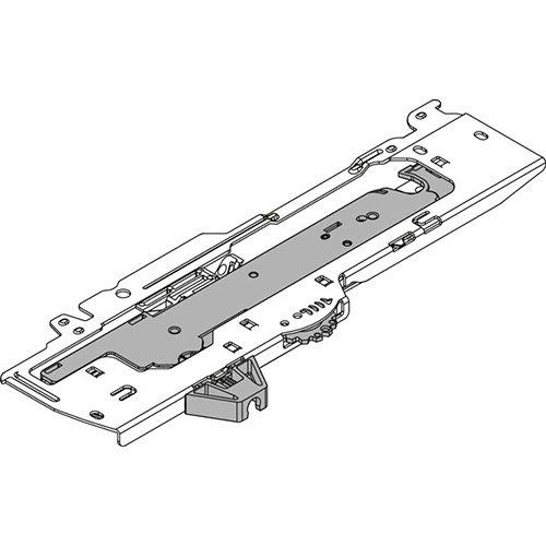 Мех-зм (L3) TIP-ON Blumotion 350-600мм, до 30кг, левый, тем.-серый