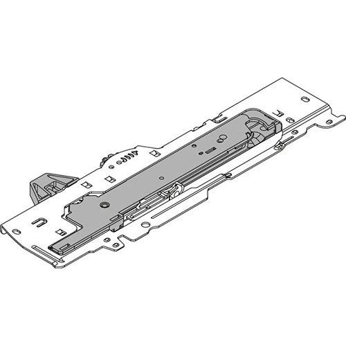 Мех-зм (L3) TIP-ON Blumotion 350-600мм, до 30кг, правый, тем.-серый