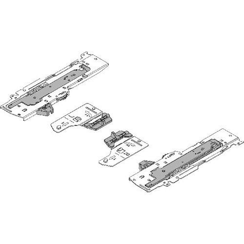 Мех-зм + триггер (L5) TIP-ON Blumotion 350-600мм, 30-65кг, лев+прав., черный