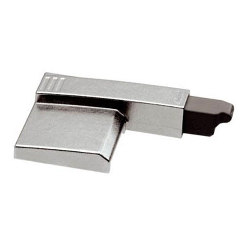 Механизм BLUMOTION на плечо петли 170° , накладная/полунакладная, никель