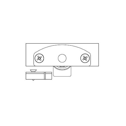 Механизм нижний Scorribase Mini для квадр. профиля (пластик)