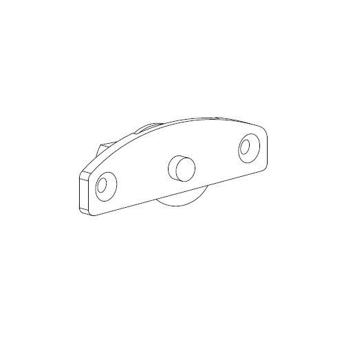 Механизм нижний Scorribase Mini для квадр. профиля (сталь)  (напр.т411)