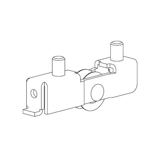 Механизм нижний Scorribase Mini для стекла 5мм, под замок