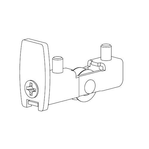 Механизм нижний Scorribase Mini для стекла 5мм