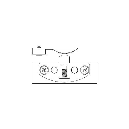 Механизм верхний Scorribase Mini для квадр. профиля (пластик)
