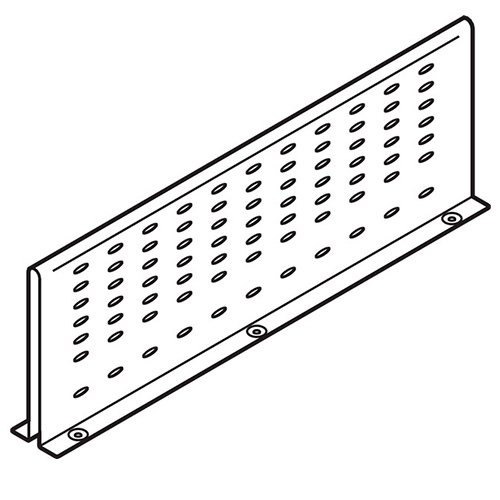Межсекционная стенка под мойку на 500мм, серый
