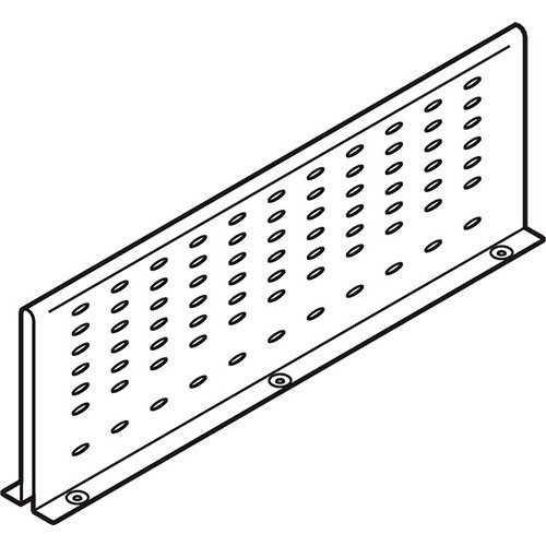 Межсекционная стенка под мойку на 550мм, серый