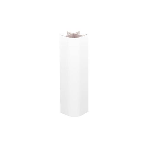 Мульти соед.угол 90-135гр.  H=100мм (пластик) белый