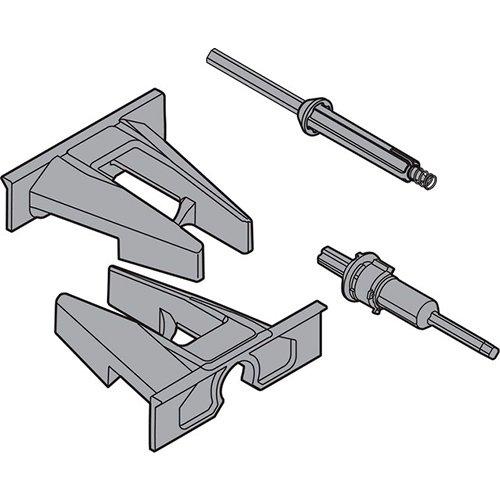 Набор 2 шестерней для вала синхронизатора к MOVENTO под TIP-ON, тем.-серый