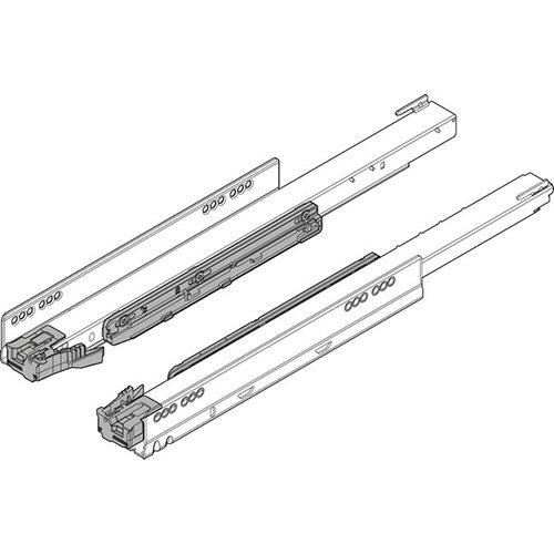Направляющая LEGRABOX TIP-ON Blumotion, 40кг, L=400мм, левая+правая(заменена на Blumotion S)