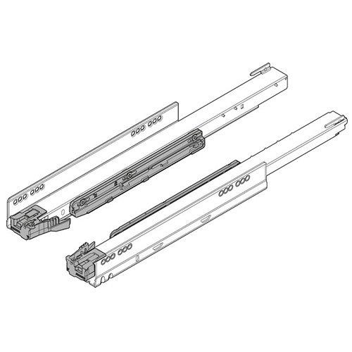 Направляющая LEGRABOX TIP-ON Blumotion, 70кг, L=600мм, левая+правая