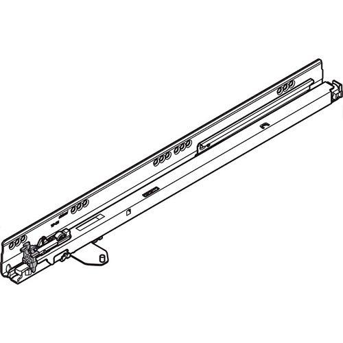 Направляющая TANDEMBOX под TIP-ON, 30кг, L=400мм, левая
