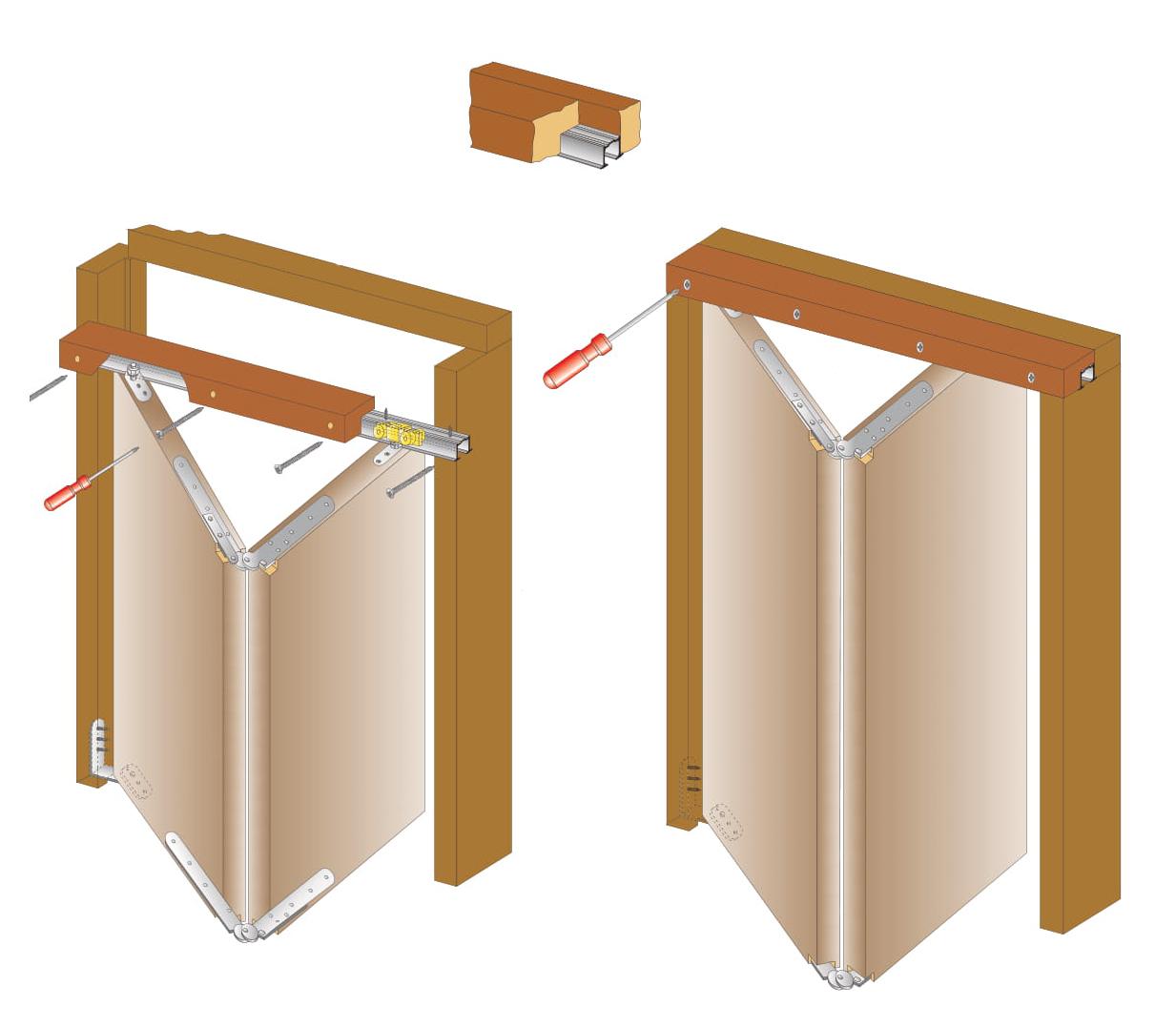 Направляющая верхняя Porte a Libro алюм. 30кг, 6м (альт. т2670/А)