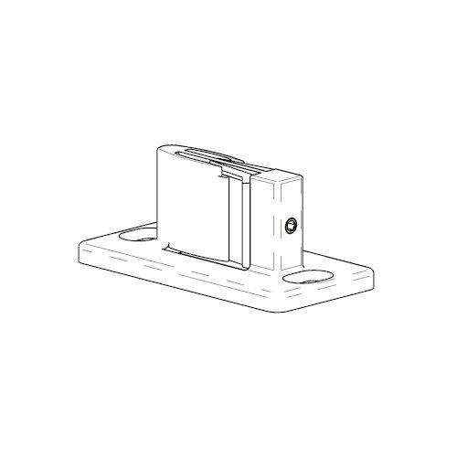 Нижний гид (регулируемый), серый (пластик) (изм.арт.S.333/N)