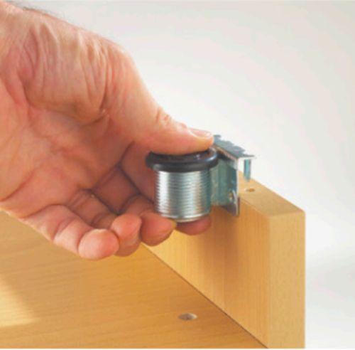 Опора для шкафа d=28мм, м/о 32мм