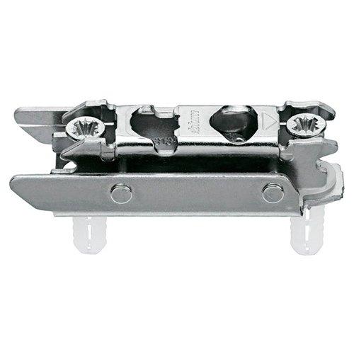 Отв. планка CLIP, прям. (20/32мм), 3мм, сталь, EXPANDO