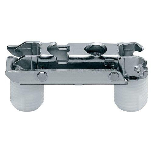 Отв. планка CLIP, прям. (20/32 мм), 0 мм, сталь, под пресс, эксцeнтрик